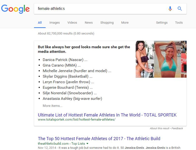 female athletics