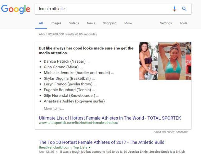female athletics